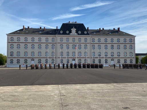 Cérémonie de prise de commandement du général de division Laurent Bitouzet