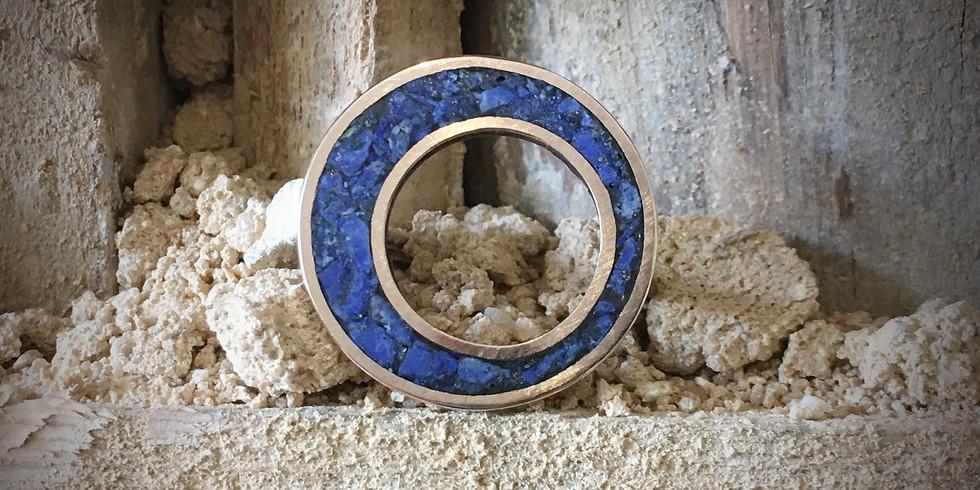 Workshop de Joalharia – Inlay com pedras semipreciosas // €90