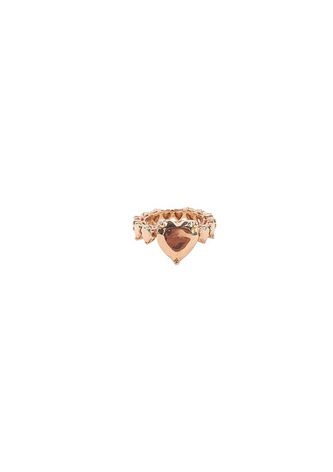 """""""Heart of Gold"""" Ring"""