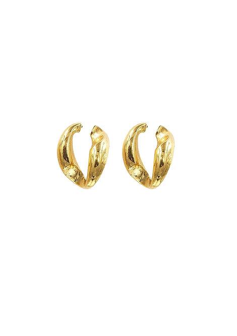 """Chained"" Earrings"