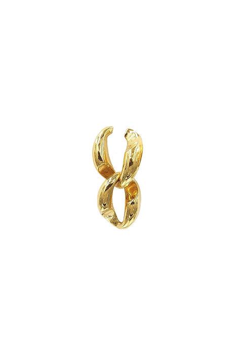 """""""Double chain"""" Earring"""