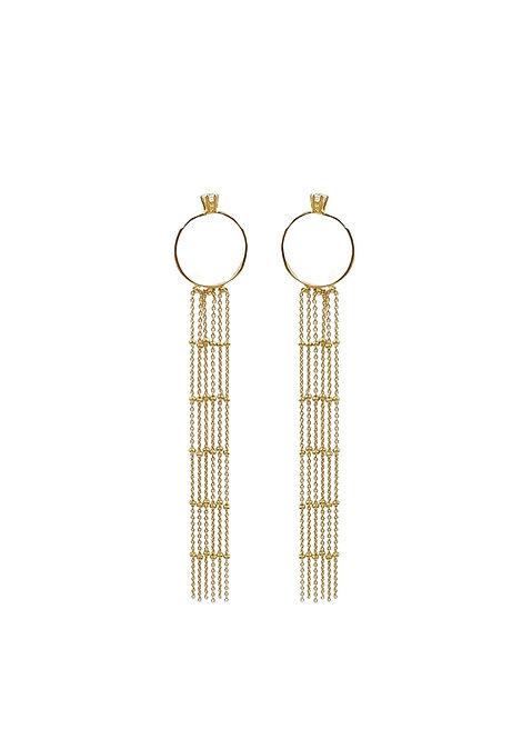 """Unveil"" Earrings"