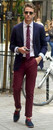Clothing Combination #7 – A Navy Blazer + Red Chinos