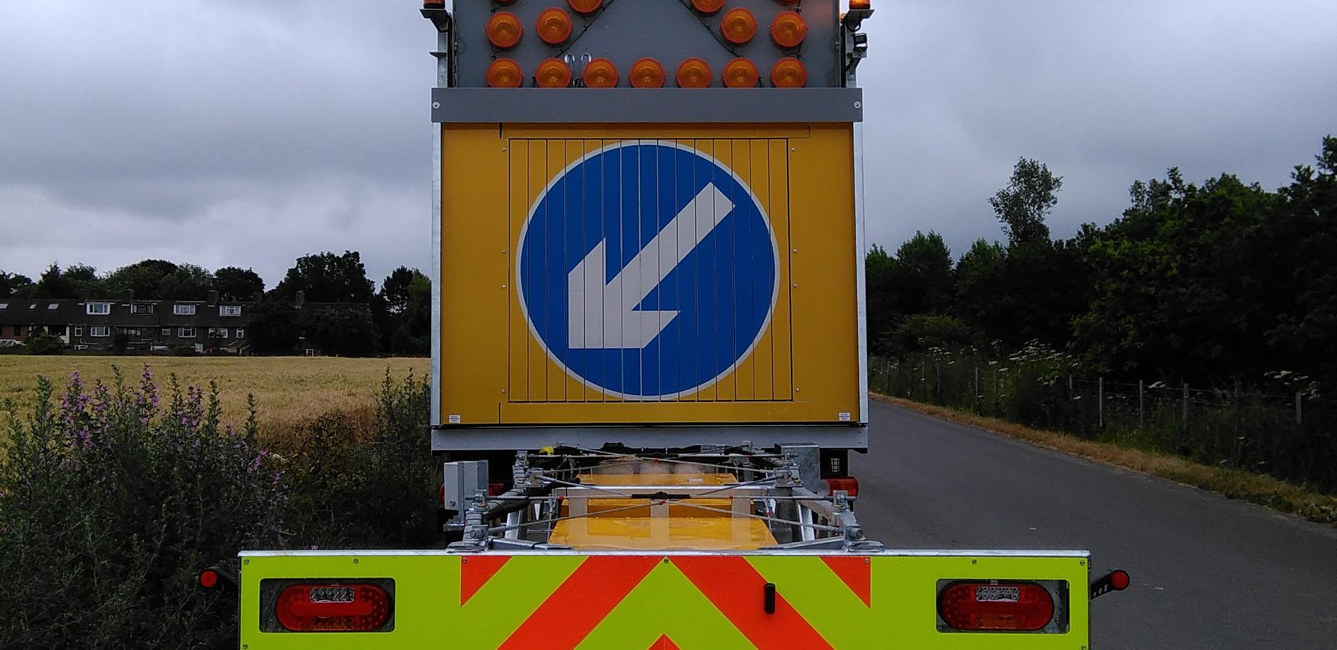 Motorway Light Arrow