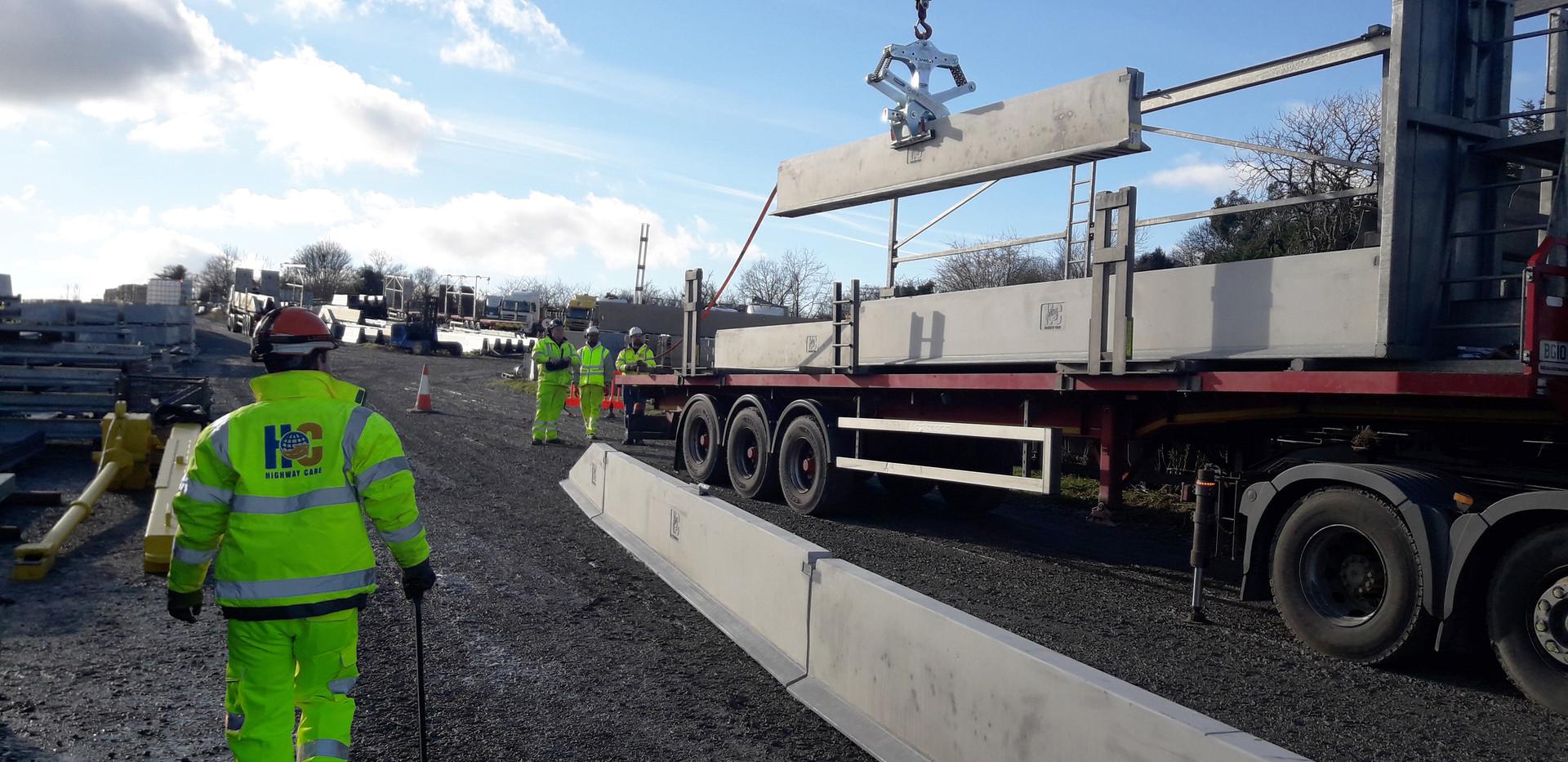 HC350 Concrete Barrier