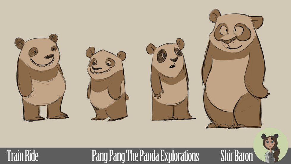 Character Exploration - Pang Pang