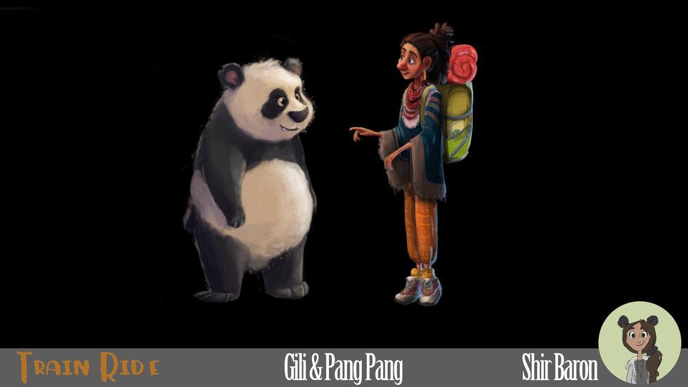 Character Design - Gili & Pang Pang