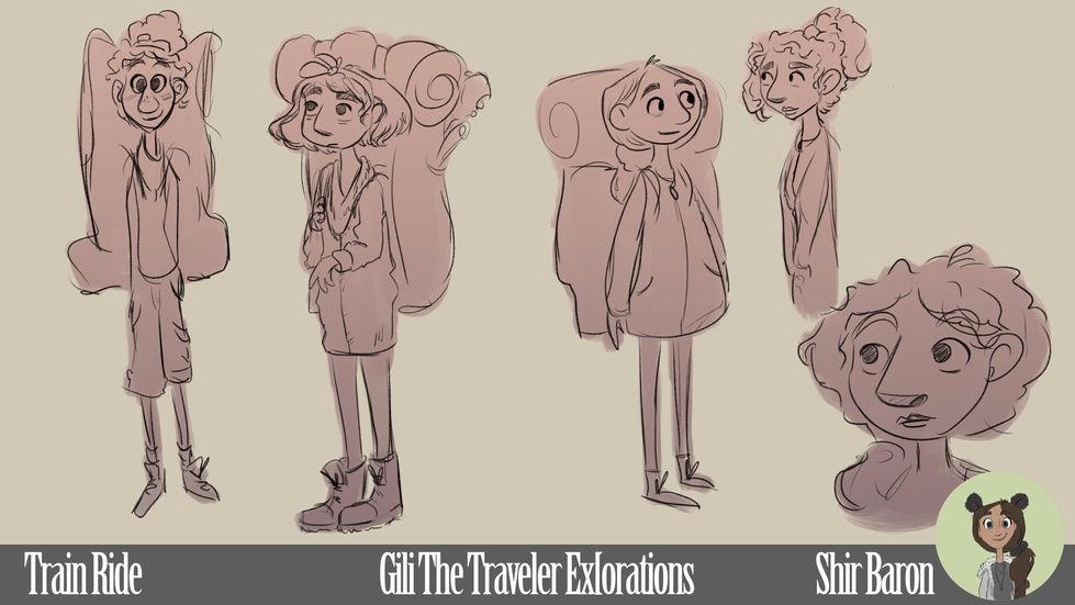 Character Exploration - Gili