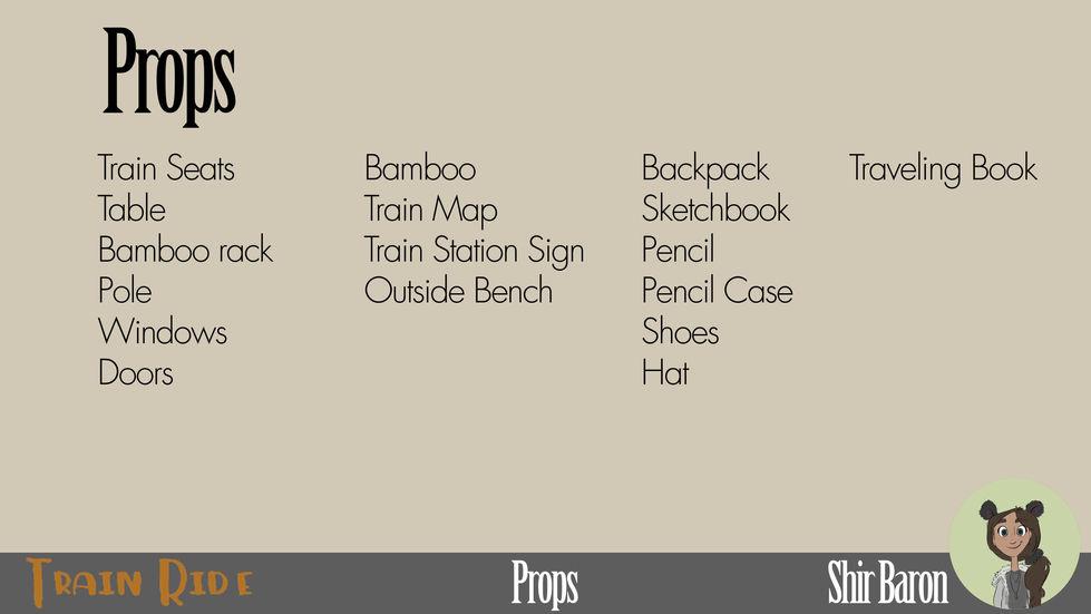 Props / Asset List