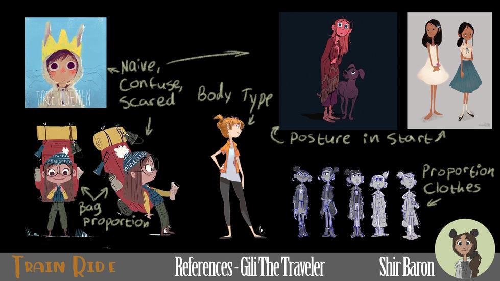 Gili Character Reference