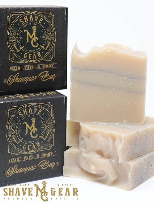 MC Shave Gear Hair, Face, and Body Shampoo Bar - Journeyman