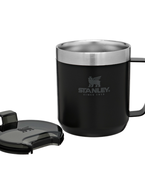 Stanley Thermos Camp Mug - Black