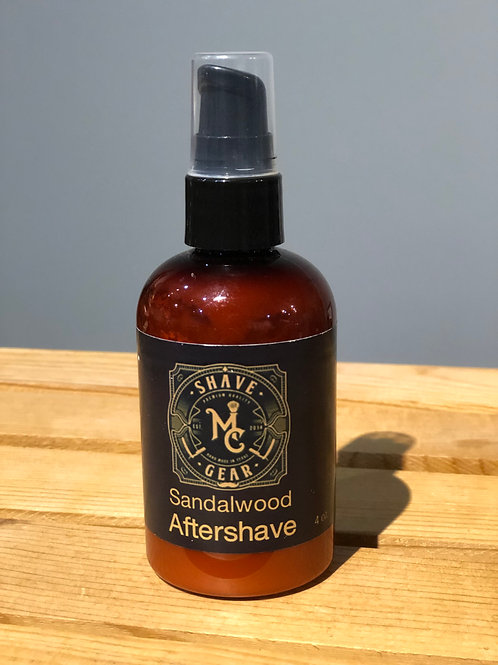MC Shave Gear Aloe Aftershave Lotion - Sandalwood