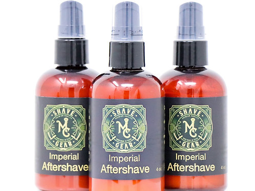 MC Shave Gear Aloe Aftershave Lotion - Imperial Scent
