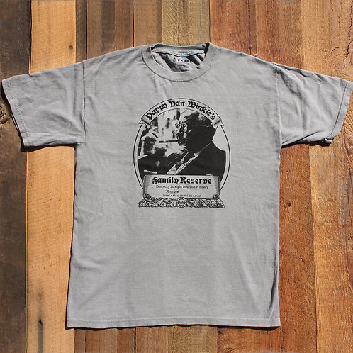 Pappy Short Sleeve Bourbon Label Shirt