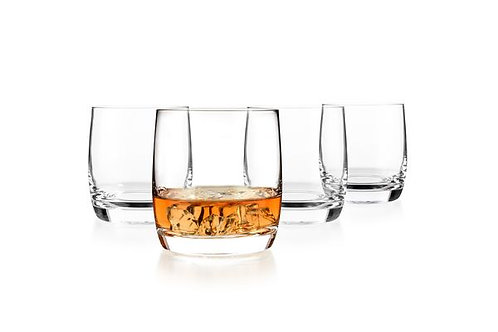 Luxbe Whiskey and Scotch Glasses - Set of 4
