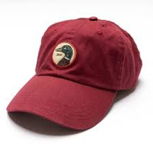 Duck Head Twill Hat - Red