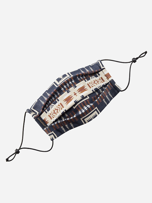 Pendleton Face Mask - Navy