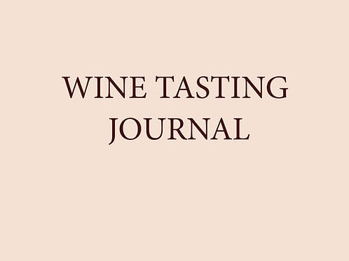 Beech Cottage Press Wine Journal