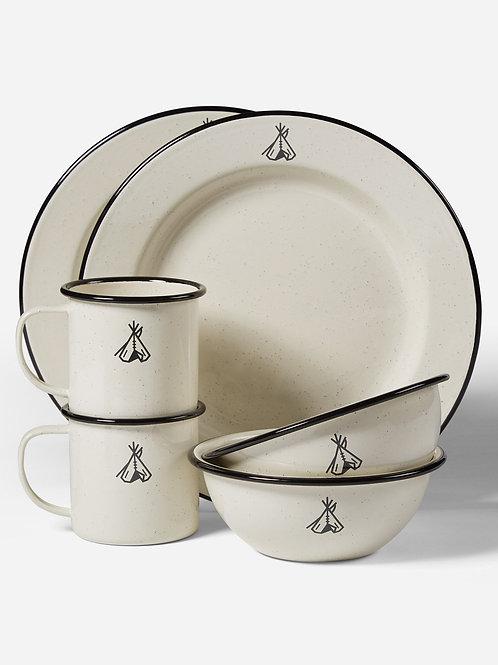 Pendleton Camp Enamelware Dishes