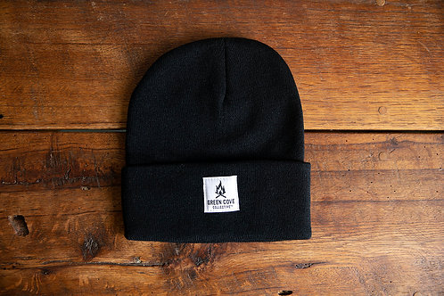 Green Cove Watch Cap - Black