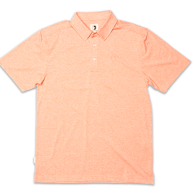 Duck Head Hayes Performance Polo Shirt Orange