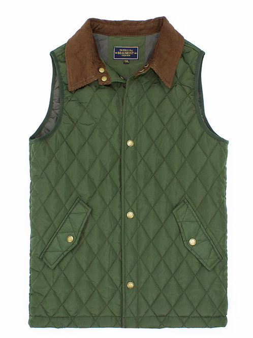 Properly Tied Beaumont Vest - Olive