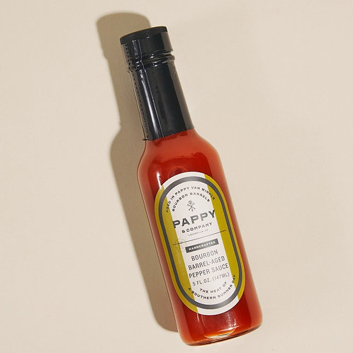Pappy Company Barrel-Aged Pepper Sauce