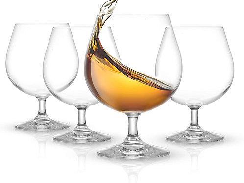 JoyJolt Cask Brandy Glasses