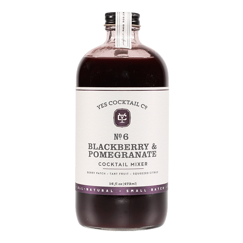 Yes Cocktail Company Blackberry Pomegranate Cocktail Mixer