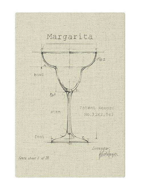 Splashworks Margarita Glass Art