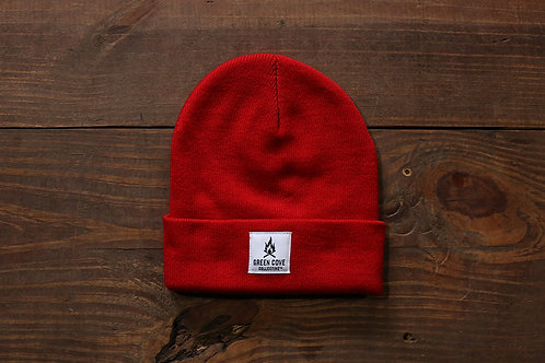 Green Cove Watch Cap Red
