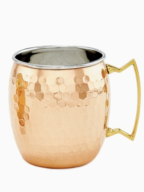 ODI Two-Ply Solid Copper/Stainless Steel Moscow Mule Mugs
