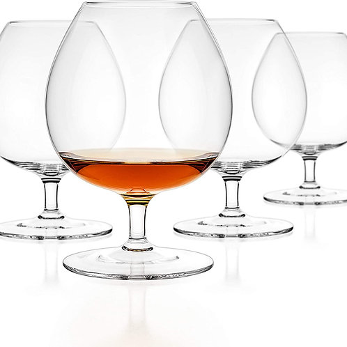 Luxbe Cognac and Brandy Glasses (Set of 2)
