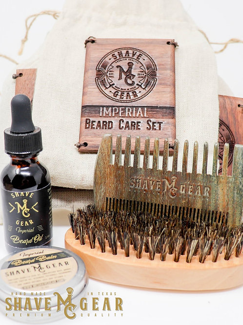 MC Shave Gear Beard Care Kit - Imperial Scent