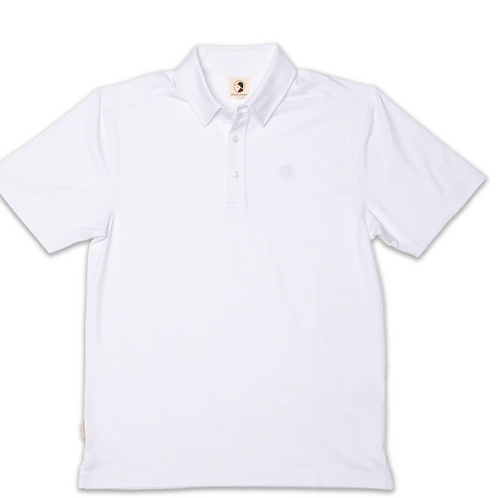 Duck Head Hayes Performance Polo White