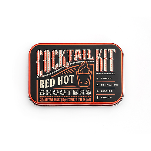 Cocktail Kits 2 Go - Red Hot Shooters