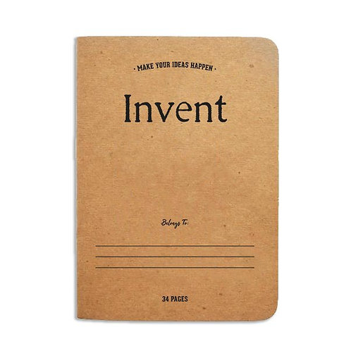 Alexander Brothers Notebook - Invent