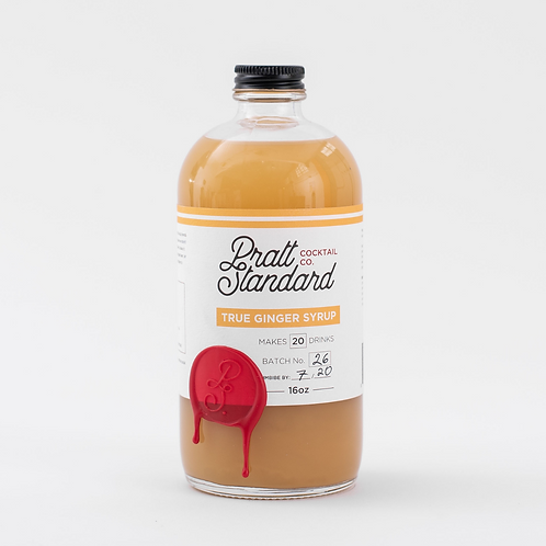 Pratt Standard True Ginger Syrup - 16 oz