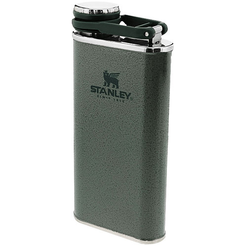 Stanley Classic Easy Fill Wide Mouth Flask - Hammertone Green