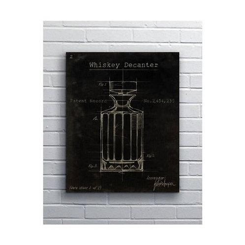 Splashworks Whiskey Decanter Art