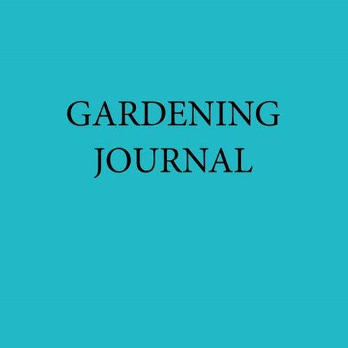Beech Cottage Press Gardening Journal
