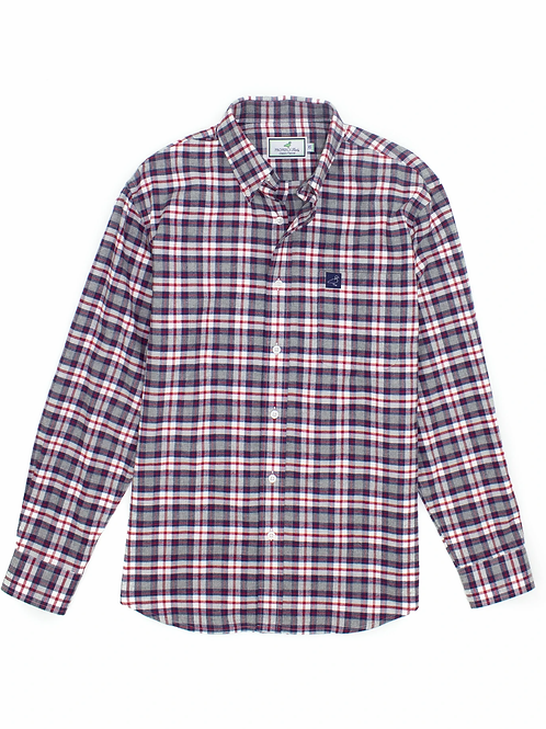 Properly Tied Long-Sleeved Flannel Shirt - Clay Mountain