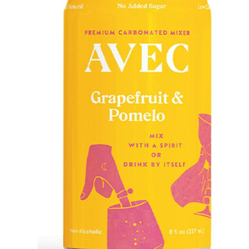 AVEC Drinks Grapefruit and Pomelo