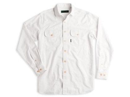 Duck Head Oxford Work Shirt White