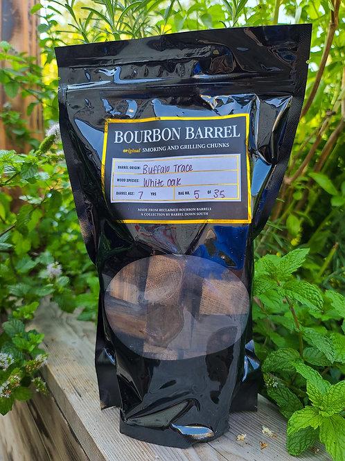 Bourbon Barrel Grilling and Smoking Chunks - Buffalo Trace