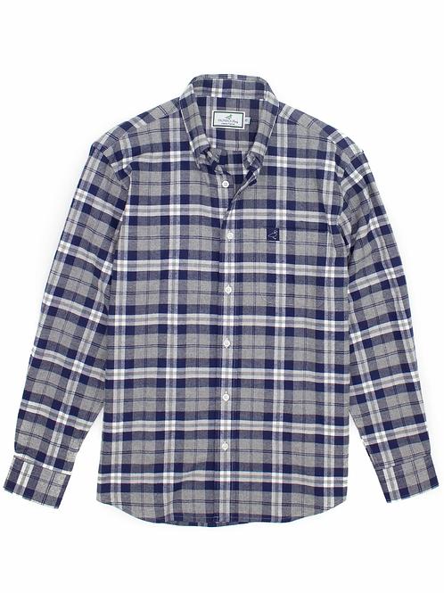 Properly Tied Long-Sleeve Flannel Shirt - Blue Ridge