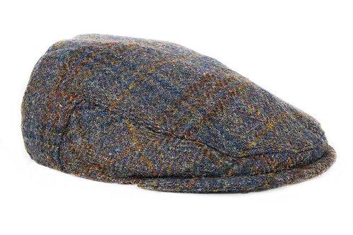 Bronte Moon Harris Tweed Flat Cap - Dark Sage