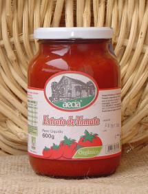 Extrato de tomate orgânico Aecia - 600g