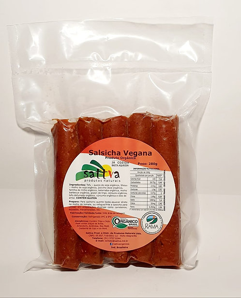 Salsicha vegana - 250g